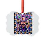 Huichol Dreamtime Picture Ornament