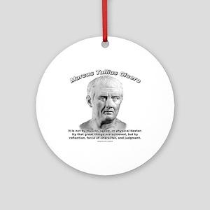 Cicero 04 Ornament (Round)