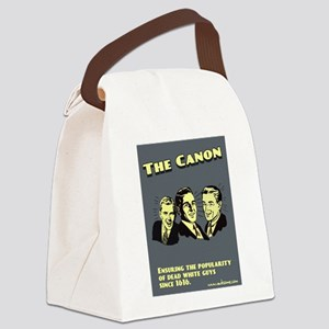 """""""The Canon"""" Canvas Lunch Bag"""