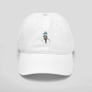 Watercolor Painting Kingfisher Bird Hat