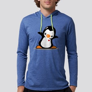 Hey Penguin! Mens Hooded Shirt