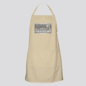 Numbers 23:19 Apron