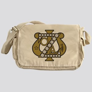 Zeta Psi Badge Messenger Bag