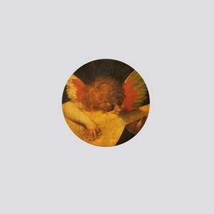 Musician Angel by Fiorentino Mini Button