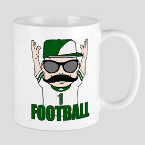 Football green Mug