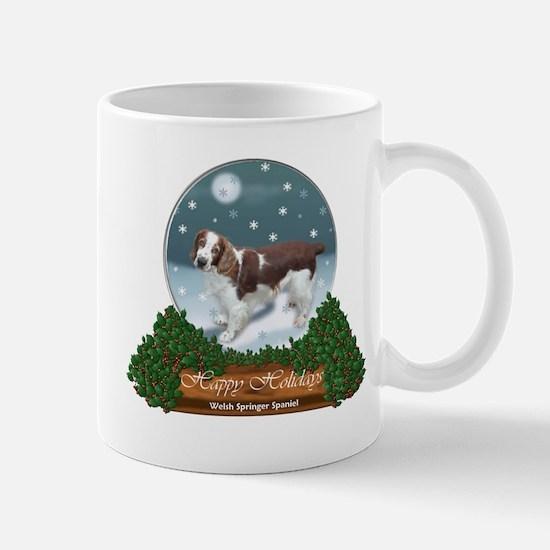 Welsh Springer Spaniel Christmas Mug
