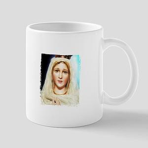Virgin of Fatima White Mug