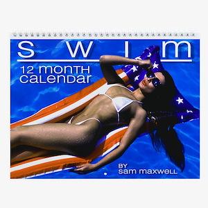 SWIM 2007 Sexy Swimsuit Pinup Wall Calendar