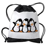 Penguin Drawstring Bag