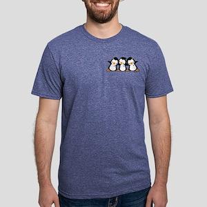 Penguins (together) Mens Tri-blend T-Shirt