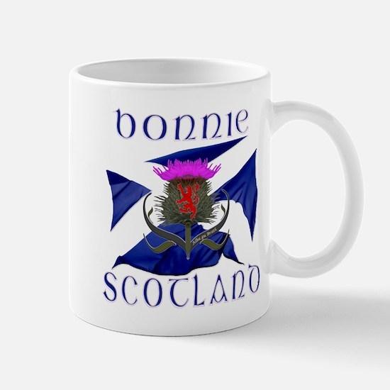 Bonnie Scotland flag design Small Mug