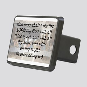 Deuteronomy 6:5 Hitch Cover