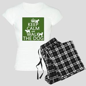 Keep Calm and Walk The Dog pajamas