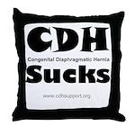 CDH Sucks Throw Pillow