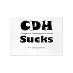 CDH Sucks 5'x7'Area Rug
