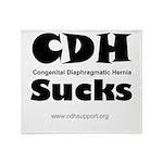 CDH Sucks Throw Blanket
