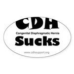 CDH Sucks Sticker