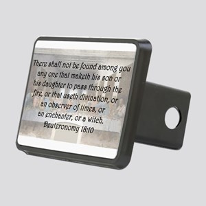 Deuteronomy 18:10 Hitch Cover