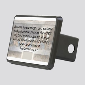 Deuteronomy 4:5 Hitch Cover