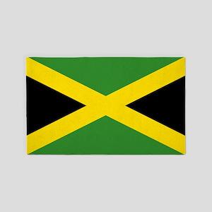 Jamaican Flag 3'x5' Area Rug
