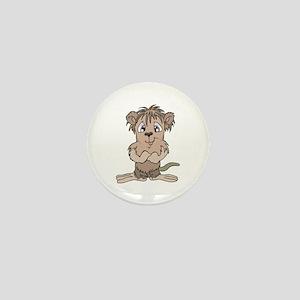 Cute Little Mole Mini Button