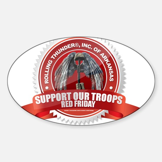Red Friday Decal