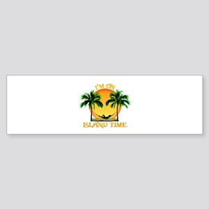 Island Time Bumper Sticker