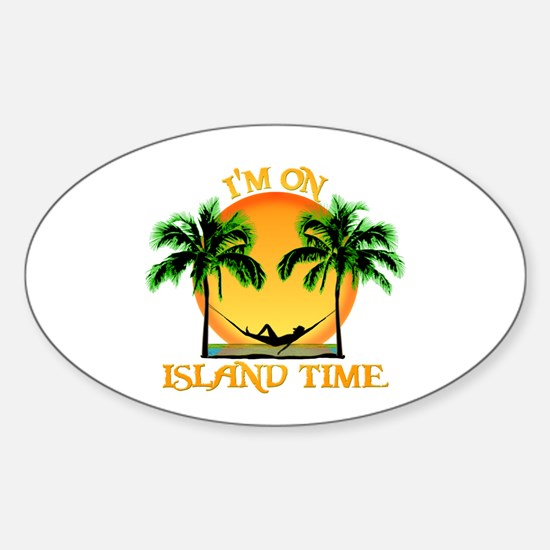 Island Time Bumper Stickers