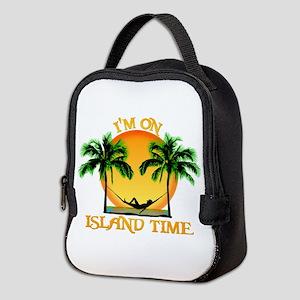 Island Time Neoprene Lunch Bag