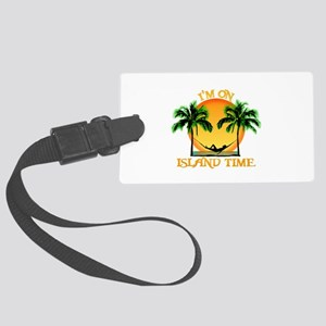Island Time Luggage Tag