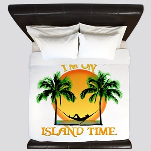 Island Time King Duvet