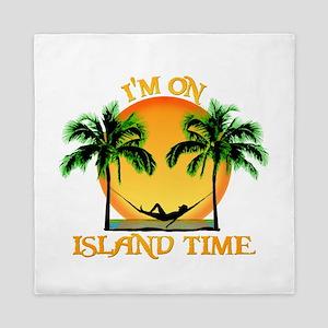 Island Time Queen Duvet