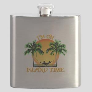 Island Time Flask