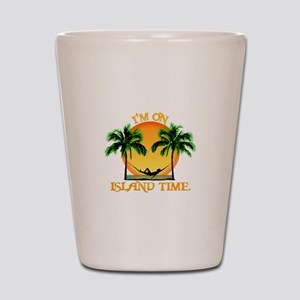 Island Time Shot Glass
