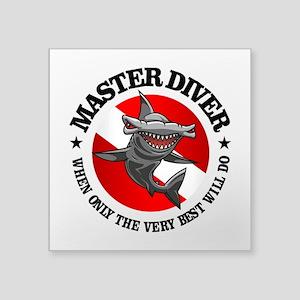 Master Diver (Hammerhead) Sticker