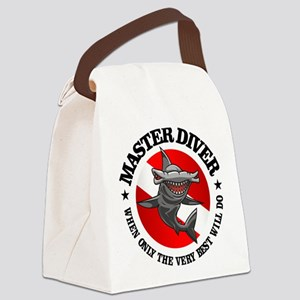 Master Diver (Hammerhead) Canvas Lunch Bag