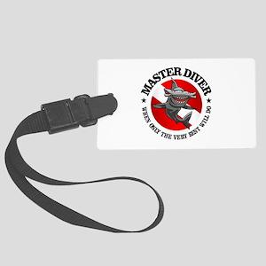 Master Diver (Hammerhead) Luggage Tag