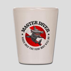 Master Diver (Hammerhead) Shot Glass