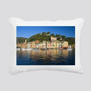 Portofino, Italy Rectangular Canvas Pillow