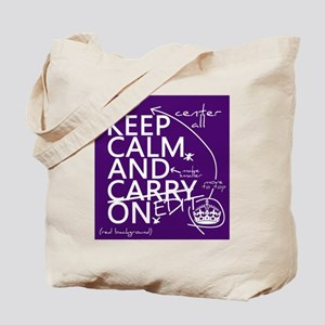 Keep Calm and Edit On Tote Bag