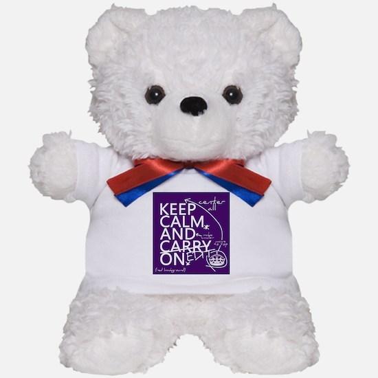 Keep Calm and Edit On Teddy Bear