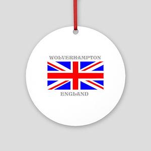 Wolverhampton England Ornament (Round)
