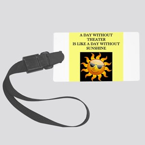 THEATER Luggage Tag
