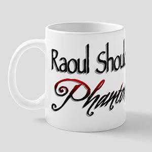 Phantom Vs. Raoul Mug