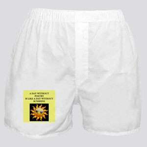poetry Boxer Shorts
