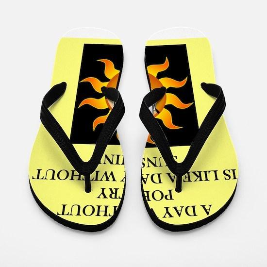 poetry Flip Flops