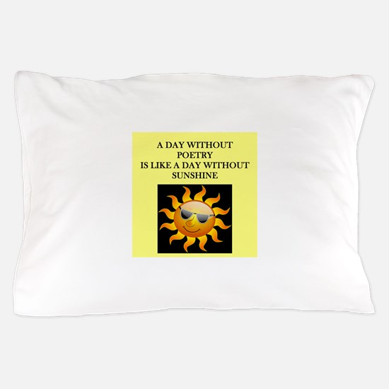 poetry Pillow Case