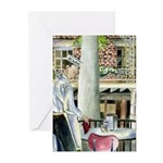 Coffee & Beignets Greeting Cards (Pk of 10)