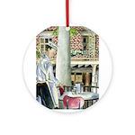 Coffee & Beignets Ornament (Round)