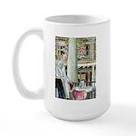 Coffee & Beignets Large Mug